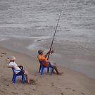 Relaxed Fishing - Relajada Pesca by Bernhard Matejka