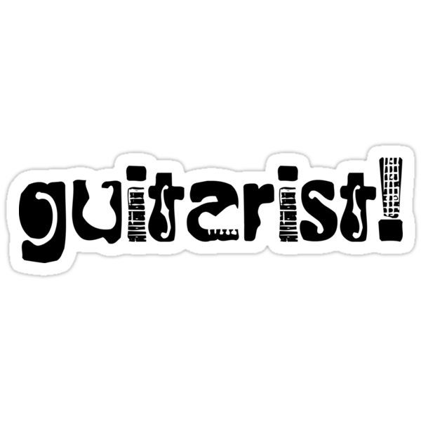 Guitarist by shakeoutfitters