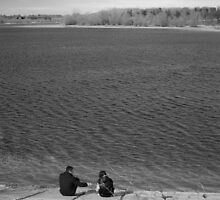 Lovers by the Lake by StephenRB