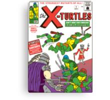 X-Turtles #1 Canvas Print