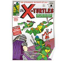 X-Turtles #1 Poster