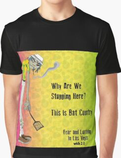 Fear & Loathing - With 2 D From The Gorillaz Graphic T-Shirt