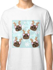 Reindeer Kittens Classic T-Shirt