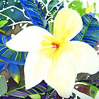 """Cool Plumeria"" 2012 © 2012 by Meagan Healy"