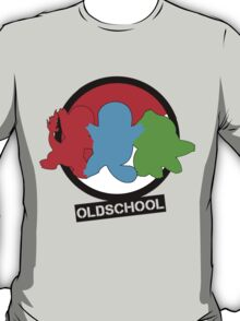 Pokemon Oldschool, coloured T-Shirt