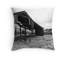 Abandoned Barn, Rookhope Throw Pillow