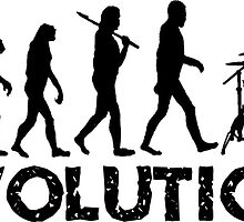 Evolution of a Drummer by shakeoutfitters