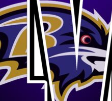 XLVII Ravens Sticker