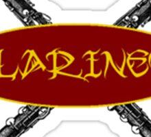Clarinet Tribal Sticker