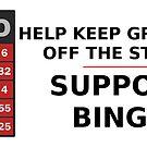Support bingo! by MrYum