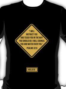 Psalms 32:8 T-Shirt