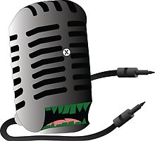 Microphone Monster by Alan Grube
