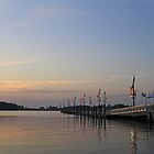 Long Pier at National Harbor by lightportal