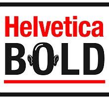 Helvetica Bold by ArneyB