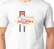 Dr Who - Welcome to Gallifrey Unisex T-Shirt