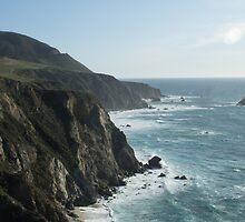 Shoreline of Pacific Ocean by lightportal
