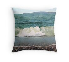 Breaking Wave Throw Pillow