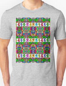 Grateful Dead Bears Trippy Pattern T-Shirt