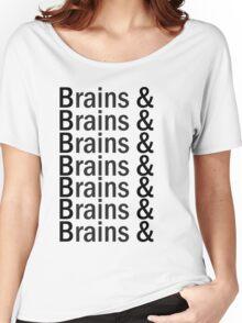 Brains & .... Women's Relaxed Fit T-Shirt