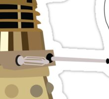Dalek on Vacation Sticker
