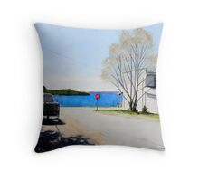 Boon Street at Noon Throw Pillow