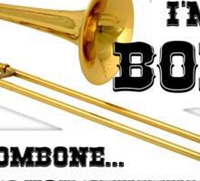 Funny Trombone  Sticker