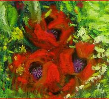 Poppies for  the Fallen by Hilary Robinson