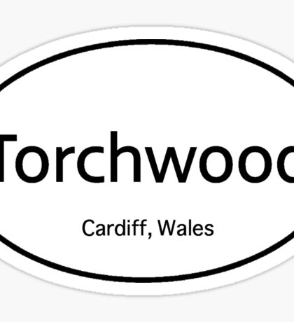 Torchwood Euro  Sticker