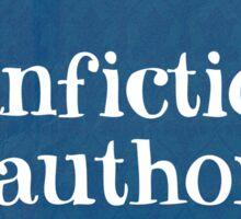 Fanfiction Author Sticker