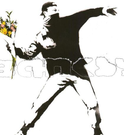 Banksy Logo Design Sticker