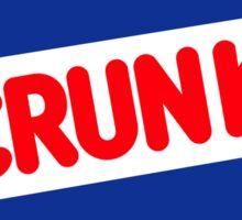 Crunk - Nestle Crunch parody Sticker