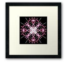 pink nova on Black Framed Print