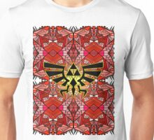 Hylian Royal Crest - Legend Of Zelda - Pattern Red Unisex T-Shirt
