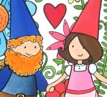 Gnomes in Love Sticker