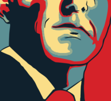 """Dedicated to Phil """"Agent"""" Coulson Sticker"""