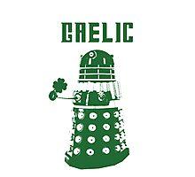 Gaelic Dalek Photographic Print