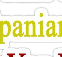 I'm That Cute Spaniard Guy You Like Sticker