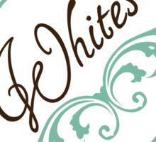 Elegant Regard Laundry Labels: Whites Sticker