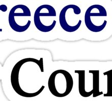Greece Is My Country  Sticker
