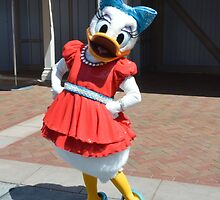 Daisy Flower Duck Character by notheothereye