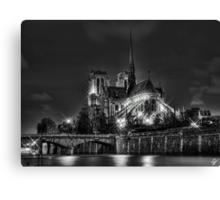 Notre Dame de Paris (HDR) Canvas Print
