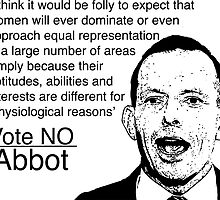 Abbot: Women Will Never Be Equal by brodhe