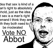Abbot: Women Witholding Sex by brodhe