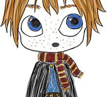 Ron Weasley Chibi by Kristina Moy