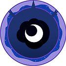 Subtle Brony - Princess Luna Cutie Circle by nimaru