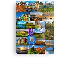The colours of Ireland Metal Print