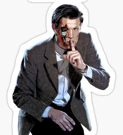 DR WHO - The Ex Terminator Sticker