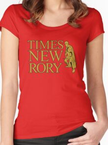 Times New Rory Women's Fitted Scoop T-Shirt