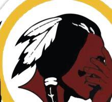 Redskins Winning Off The Field Success! Sticker