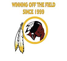 Redskins Winning Off The Field Success! Photographic Print